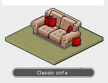 Alteration Pod Sofa Classic Sofa