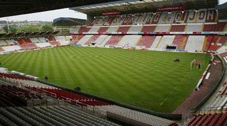 Sporting de gijon himno y im genes - Estadio del sporting de gijon ...