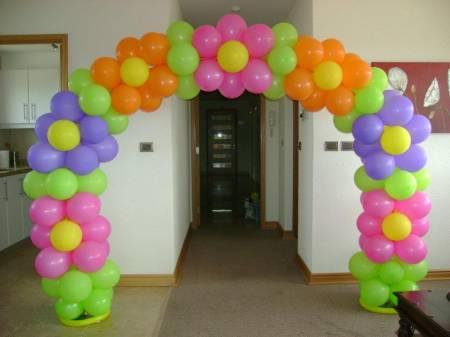 Decoraciónes con globos arcos - Imagui