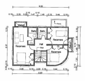 Planos arquitectonicos a distancia for Planos arquitectonicos de casas gratis