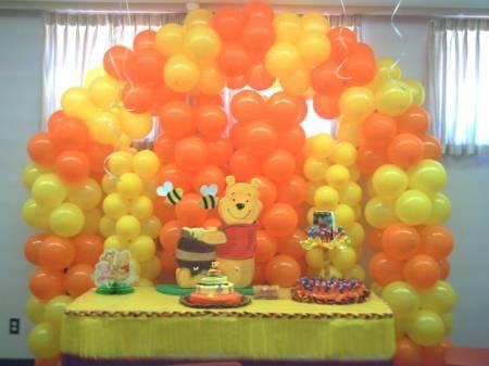 Decoraci nes de fiesta de winnie pooh imagui for Decoracion winnie pooh para fiesta infantil